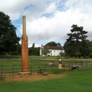 23' cricket bat at Stansted hall