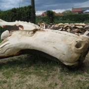 Dragon Head at Gayton School, Norfolk, 2015